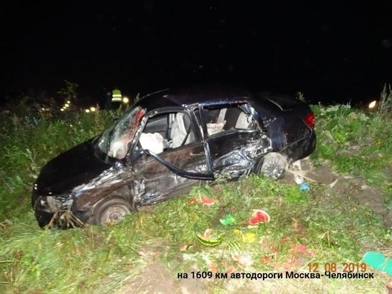 Южноуралец погиб в ДТП, которое спровоцировал житель Свердловской области