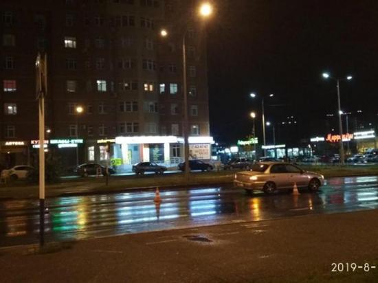 В Оренбурге на пешеходном переходе сбили несовершеннолетнего