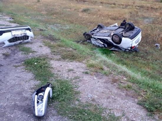 Под Соль-Илецком в ДТП с участием военного грузовика погиб водитель