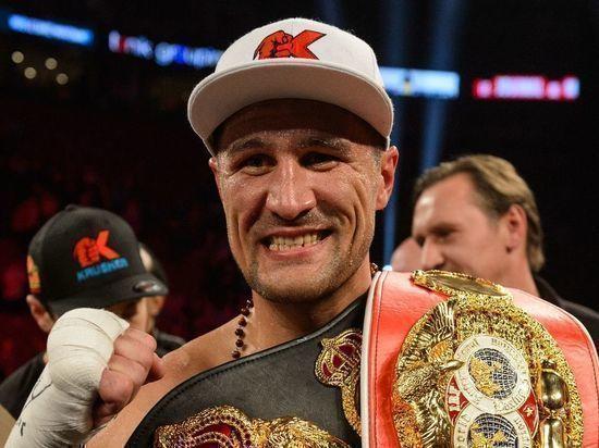 Российский боксер Сергей Ковалев готовится к бою с Энтони Ярдом