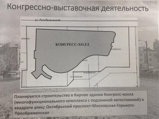 "За ""Алыми парусами"" в Кирове построят конгресс-холл"