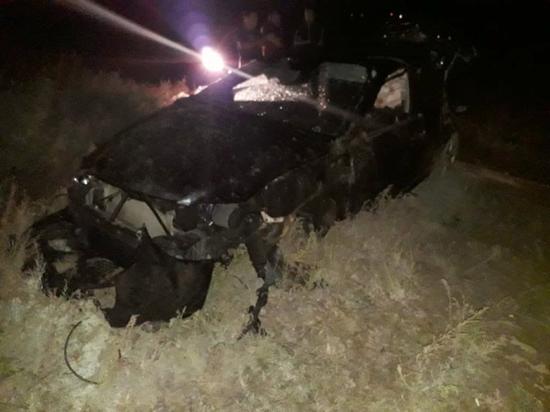 Серьезное ДТП  в Астрахани: водитель вылетел через боковое стекло
