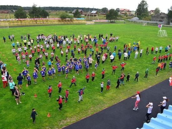 Более 5000 человек собрал День физкультурника в Вологодском районе