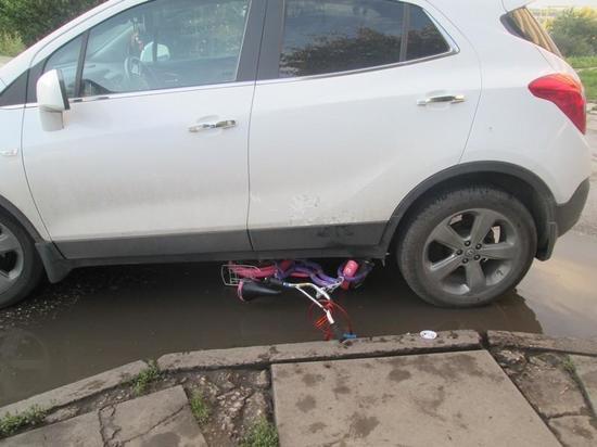 Автомобилистка задавила девочку на велосипеде в Тульской области