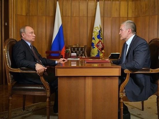 Глава Крыма рассказал Путину о борьбе с ростом цен