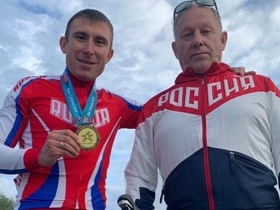 Удмуртский спортсмен заработал 2 золотых медали на Кубке мира по паравелогонкам
