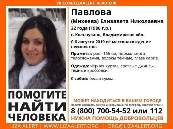 Во Владимирской области ищут пропавшую 32-летнюю женщину