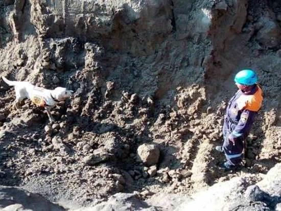 В аэропорту Толмачево рабочих завалило грунтом