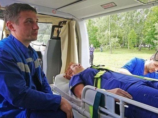 В Тульской области санавиация совершила 14 вылетов для эвакуации экстренных больных
