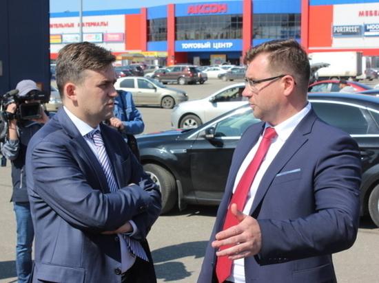 Работу дорожников в Иваново проинспектировали губернатор и мэр