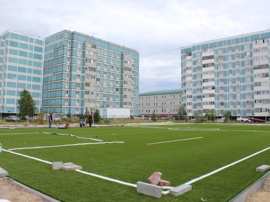 Новую спортплощадку в Губкинском откроют уже в августе