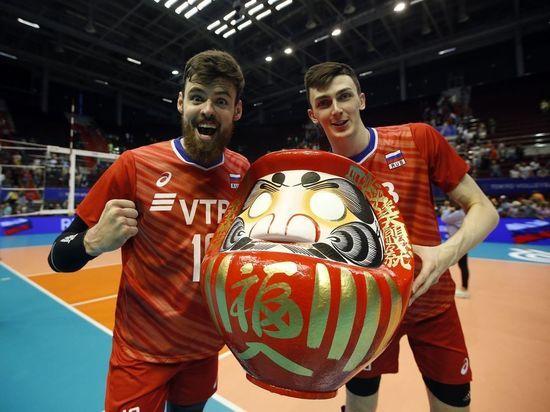 Алтайские волейболисты помогли сборной РФ завоевать путевку на Олимпиаду в Токио