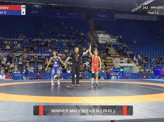 Спортсменка из Хакасии по вольной борьбе победила в международном турнире