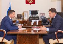 Куйвашев представил главе Минприроды проект второй ветки метро