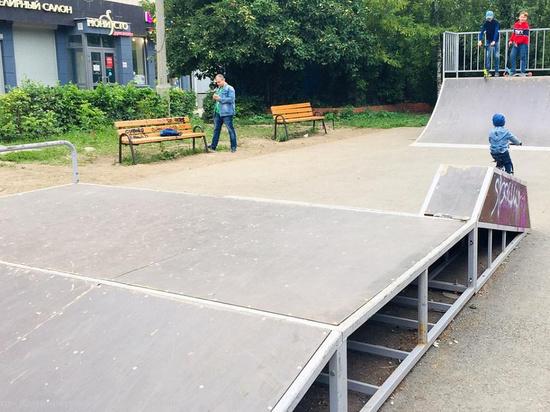 Подрядчик исправит недостатки в скейт-парке на Московском шоссе