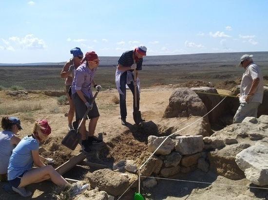 Тульские археологи нашли в Крыму артефакт неизвестного культа