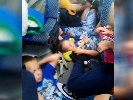 Спали на полу: челябинских детей везли из Крыма в жутких условиях