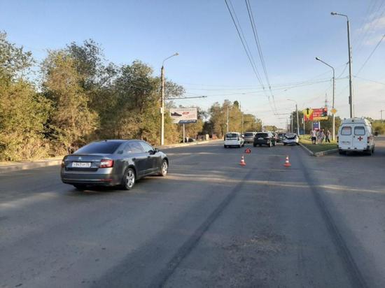 В Оренбурге в ДТП на улице Механизаторов пострадал ребенок