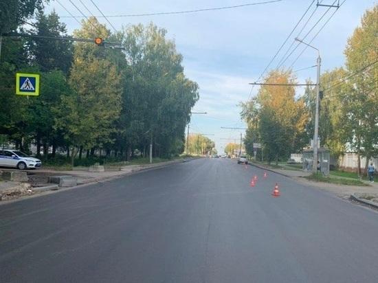 Подростка сбили на пешеходном переходе в Калуге