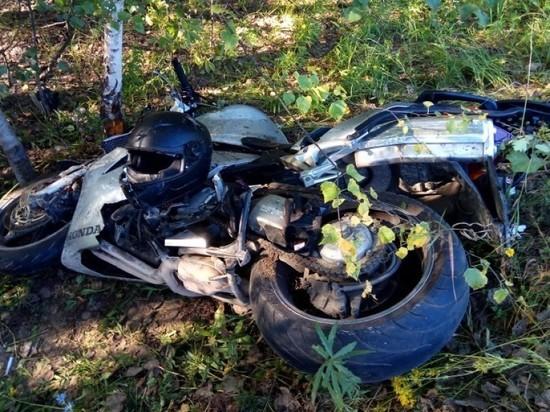 В Касимовском районе мотоциклист врезался во внедорожник