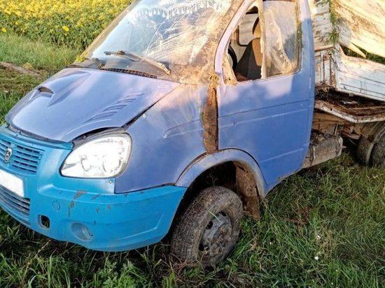 В Тамбовской области пьяный водитель спровоцировал ДТП