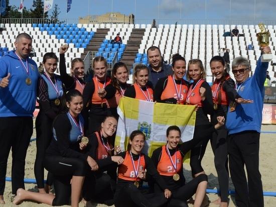 Девушки из Ставрополя выиграли чемпионат России по пляжному гандболу