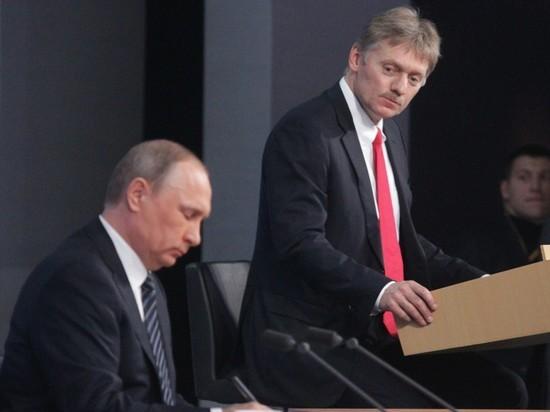 Песков раскрыл отношение Путина к Зеленскому