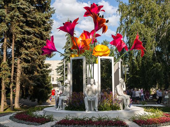 Омскую выставку цветов посетило более 700 тысяч человек