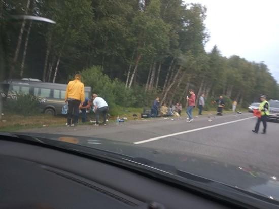 Свидетель аварии на границе с Тверской областью рассказал ужасные подробности трагедии
