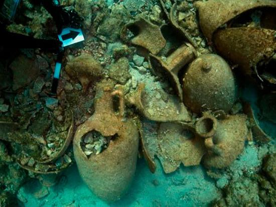 На морском пути в Трою найдено кладбище античных кораблей