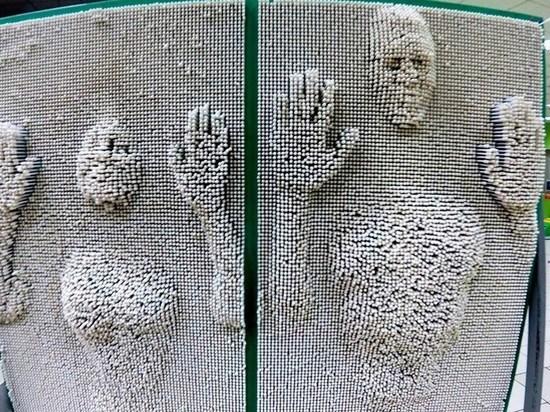 На Михайловской набережной завтра появится пин-арт объект