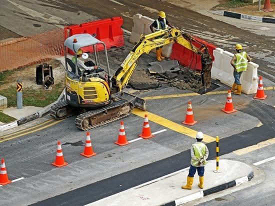 В Петушинском районе ремонтируют участок трассы М-7