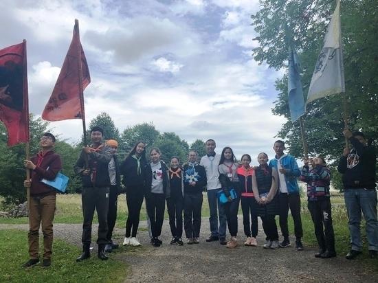Калмыцкие подростки выясняли, кто достоин быть лидером