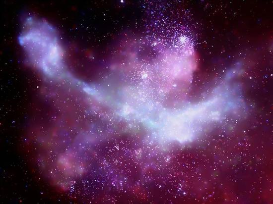 В центре Млечного пути пробудилась сверхмассивная черная дыра