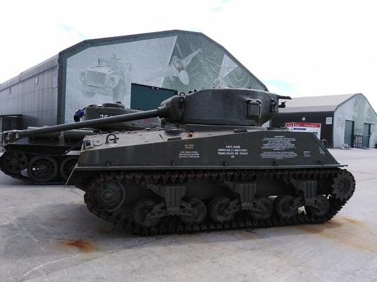 Американский танк, поднятый из Баренцева моря, реставрируют в Туле