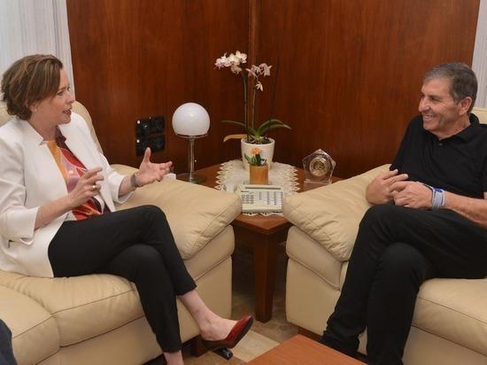 Национальный Фонд  будет углублять сотрудничество с Хайфой