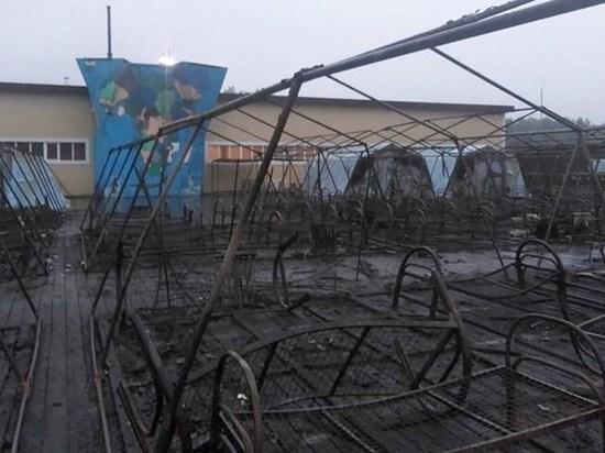 Снят режим ЧС, введенный на территории хабаровского лагеря