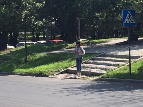 В Хабаровске отремонтируют полуразрушенную лестницу