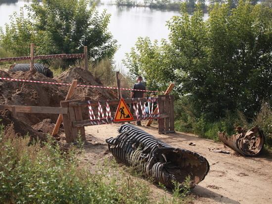 При пожаре в коллекторе канализации в Иркутске погиб мужчина