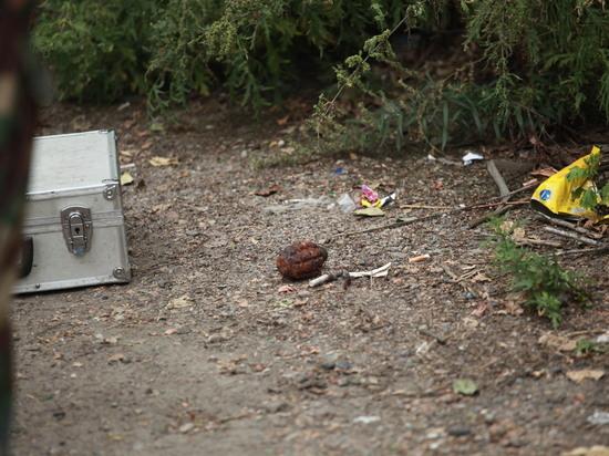 В травмпункте на улице Джамбула в Иркутске нашли гранату