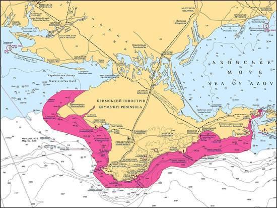 Украина хочет создать морскую режимную зону вокруг Крыма