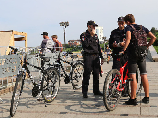 Наряды ППС в Тюмени пополнены велопатрулями