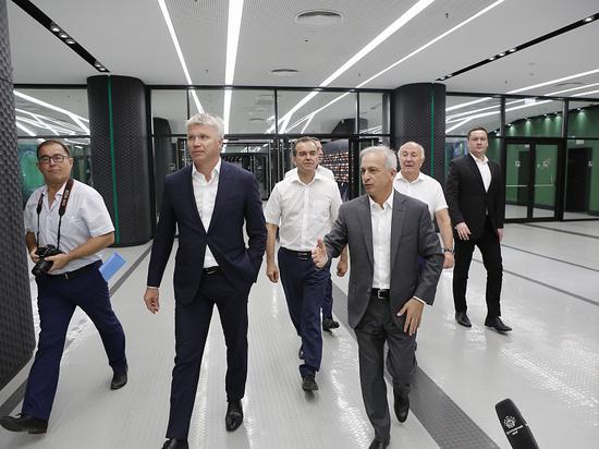 Министр спорта РФ Колобков посетил Кубанский университет физкультуры и стадион «Краснодар»