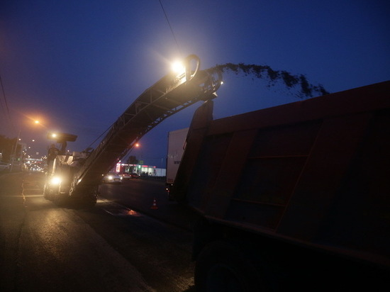 В Новосибирске подрядчика заставили переделать некачественную дорогу