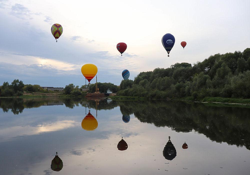 В Рязани стартовал фестиваль «Небо России»