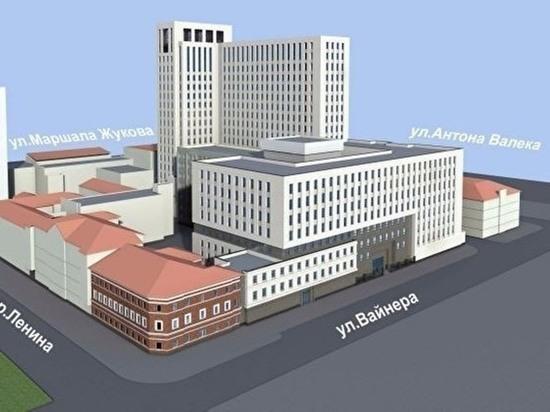 Высокинский утвердил документы для строительства новых зданий ФСБ