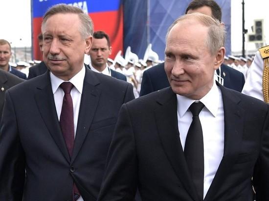 Песков: Путин оценил опыт Беглова при назначении врио главы Петербурга