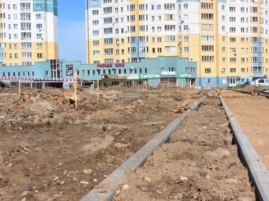 В Иванове благоустраивают новый сквер