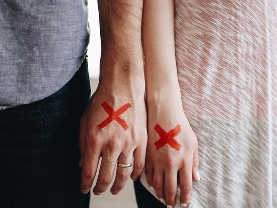 В Псковской области более чем на 30% сократилось количество разводов