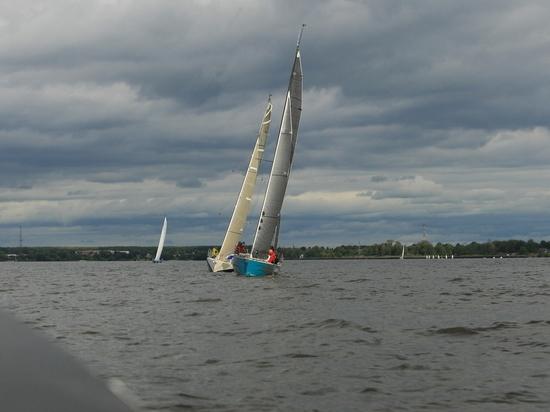 На Горьковском море прошла 40-я Алексеевская регата